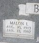 "Profile photo:  Malon Ivy ""Uncle Shorty"" Beasley"