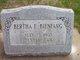 Profile photo:  Bertha E Bienfang