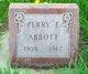 Profile photo:  Perry E Abbott