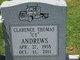"Profile photo:  Clarence Thomas ""CT"" Andrews"