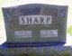 Janie <I>Hughes</I> Sharp
