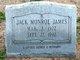 Jack Monroe James
