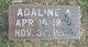 Profile photo:  Adeline Abbe