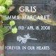 Profile photo:  Emma Margaret Gris