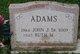 John J Adams, Sr