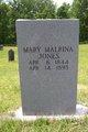 Profile photo:  Mary Malrina Jones