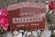 Jewell Alexander