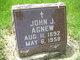 Profile photo:  John James Agnew, Sr