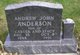 """Profile photo:  Andrew John """"Andy Man"""" Anderson"""