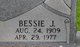 Profile photo:  Bessie J. Adams