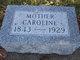 """Christine Wilhemine """"Caroline or Mutton"""" <I>Buttke</I> Crago"""