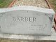 Martha Susan <I>Davis</I> Barber