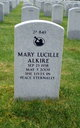 Profile photo:  Mary Lucille Alkire