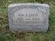 Profile photo:  Ada A <I>Bowman</I> Eakin