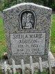 Profile photo:  Sheila Marie Addison