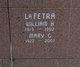 William H LaFetra
