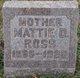 Martha Dorothy <I>Ricketts</I> Ross