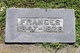 "Frances ""Aunt Fannie"" <I>Wright</I> Atkinson"