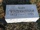 Mary Winterbotham