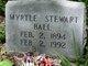 Myrtle <I>Stewart</I> Ball