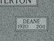 Deane Chatterton