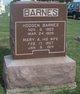 Mary Ann <I>Thomas</I> Barnes