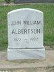 Profile photo:  John William Albertson