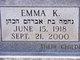 Profile photo:  Emma <I>Katz</I> Abelkop