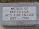 Profile photo:  Adelaide Chasse