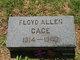 Profile photo:  Floyd Allen Cage