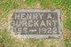 Henry A Burckart