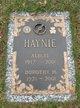 """Profile photo:  Albert H. """"Speed"""" Haynie"""