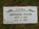 Profile photo:  Abraham Enloe