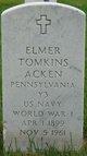 Profile photo:  Elmer Tomkins Acken