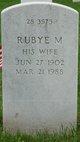 Profile photo:  Rubye M Acken