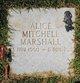 Profile photo:  Alice Godwin <I>Mitchell</I> Marshall