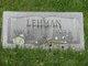 Fannie L Lehman