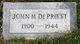 Profile photo:  John Houston De Priest
