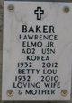 """Lawrence Elmo """"Larry"""" Baker"""