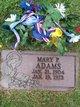 Profile photo:  Mary P. Adams