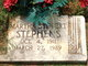 Martha Katherine <I>Stobert</I> Stephens