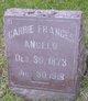 Carrie Frances <I>Coon</I> Angelo