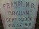 Franklin Bellamy Graham