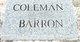 Coleman Barron