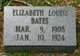 Elizabeth Louise Bates