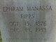 Ephram Manassa Fipps