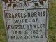 """Frances C """"Fannie"""" <I>Norris</I> Fowler"""