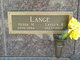 Evelyn Ruth <I>Keegan</I> Lange