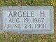 Profile photo:  Argele Hester <I>Watson</I> McCabe