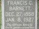 "Profile photo:  Frances Caroline ""Fannie"" <I>Fitzgerald</I> Barnett"